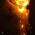 Santa Fe Fiesta Opens With Burning Of Zozobra
