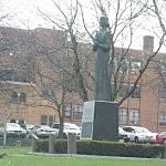 Kopernicus statue Utica, NY