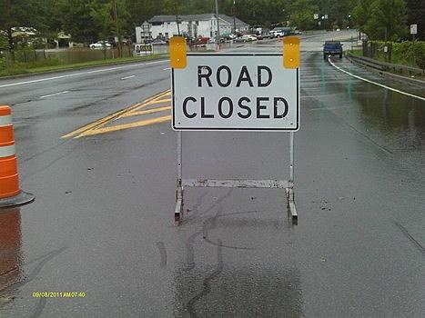 Road Closed Route 5 Kirkland