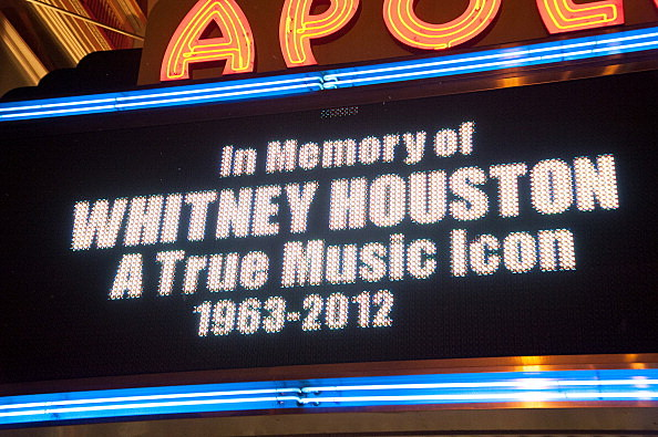 Remembering Whitney Houston In New York City