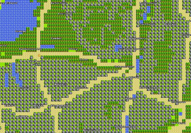 Google Maps, 8-bit edition