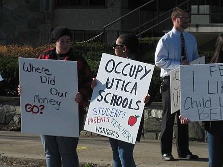 Utica School Occupy