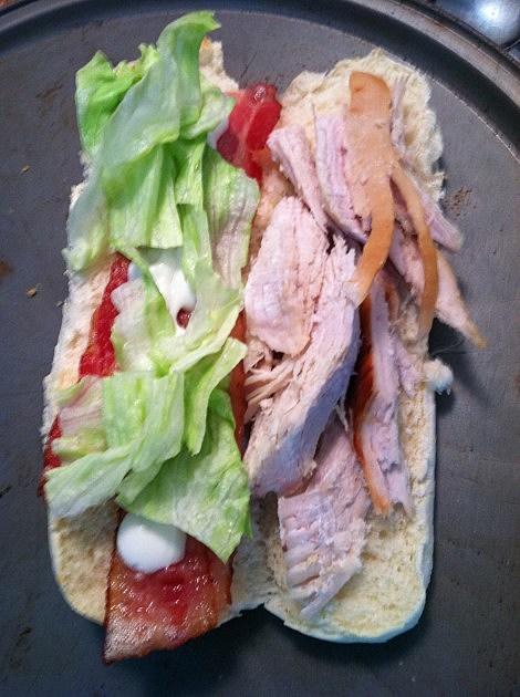 Turkey Bacon Ranch Sub