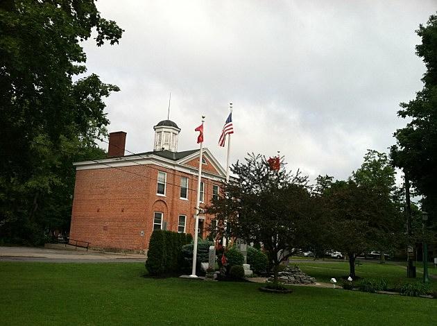 flag at whitetown hall