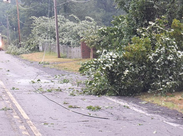 Utica Storm Damage