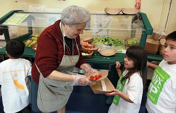 Healthy School Cafeteria Food