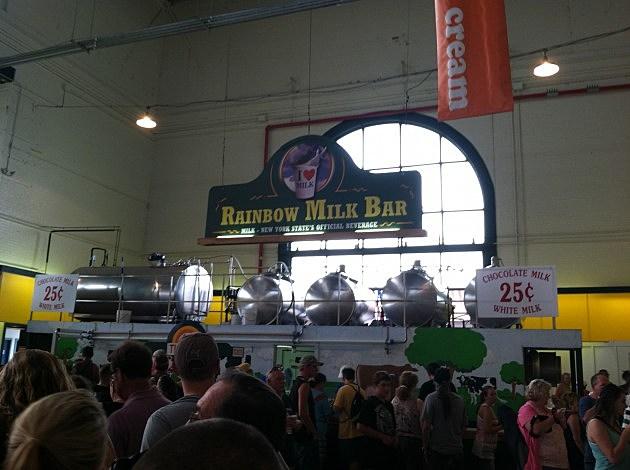 Rainbow Milk Bar - New York State Fair