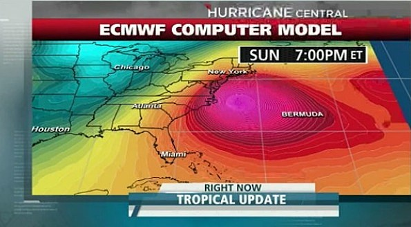 Sandy could effect New York, New Jersey and North East