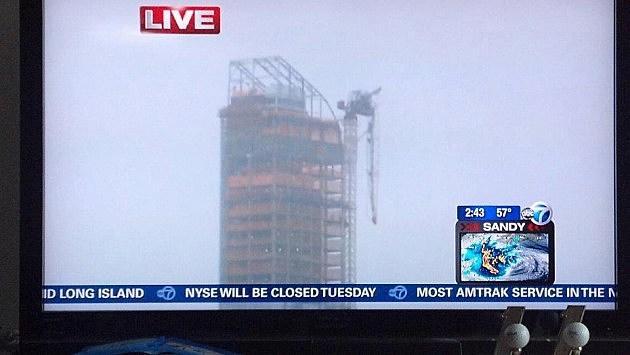 Tower Crane 57th Street Sandy