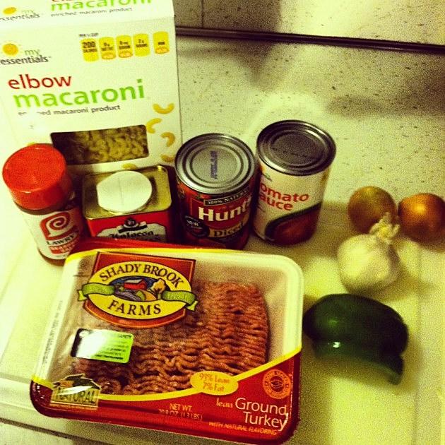 ingredients to make goulash