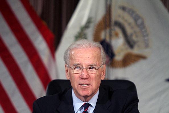 Vice President Biden Eye Injury