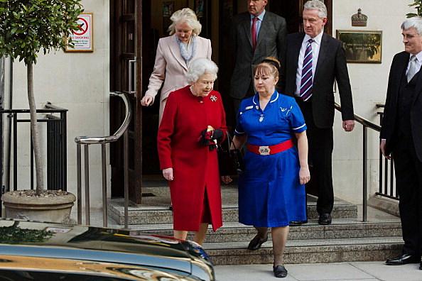 Queen Elizabeth II Release from Hospital