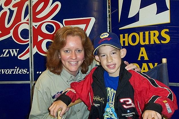 Trudy at Lite 98.7's 2002 CMN Radiothon.