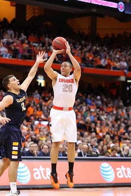 Syracuse University Mens basketball players