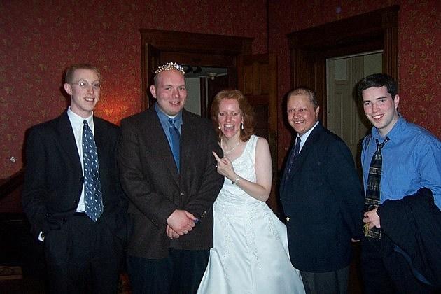 Trudy's wedding