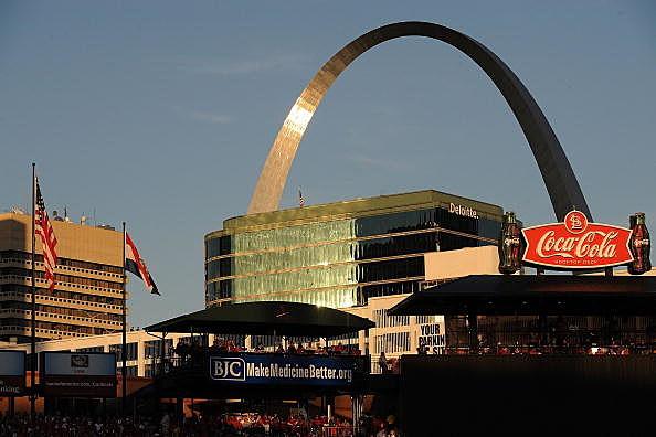 the St. Louis Gateway Arch