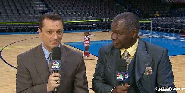 CSN Houston Baby on NBA Court