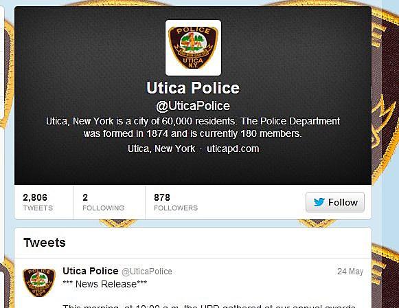 Utica Police Twitter
