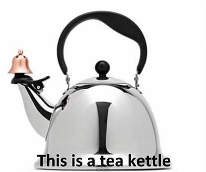 Hitler Teak Kettle
