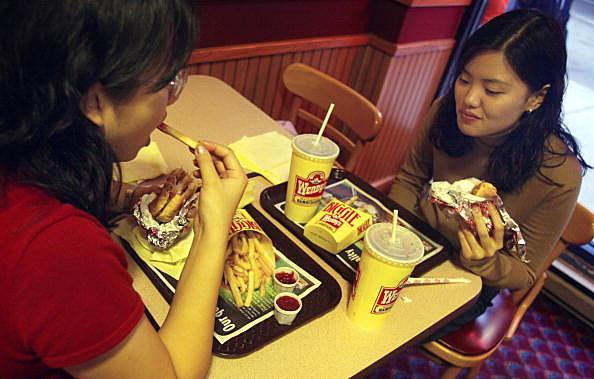 Wendy's fast-food restaurant