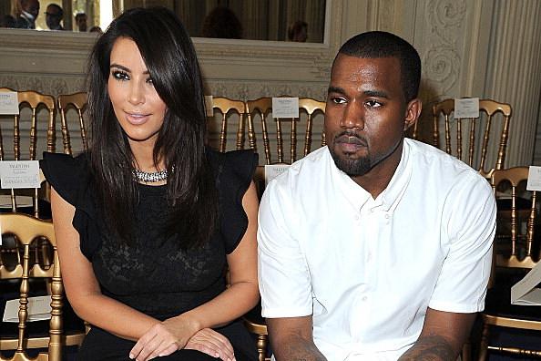 Kim Kardashian and Kayne West