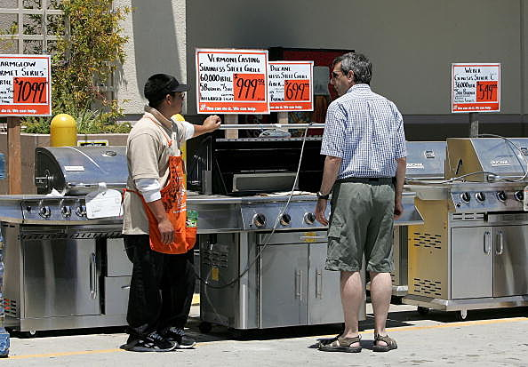 grill shopping