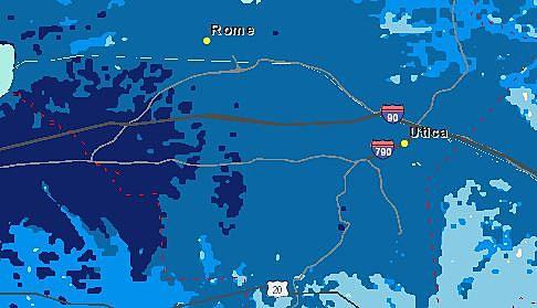 ATT 4G Coverage in Oneida County