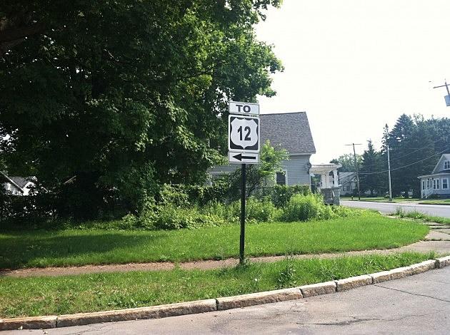 US 12 sign in Utica