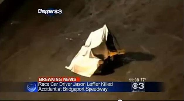 Leffler crash site