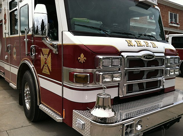 New Hartford fire truck