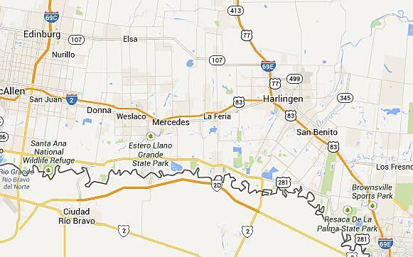 Interstate 2 Texas Map