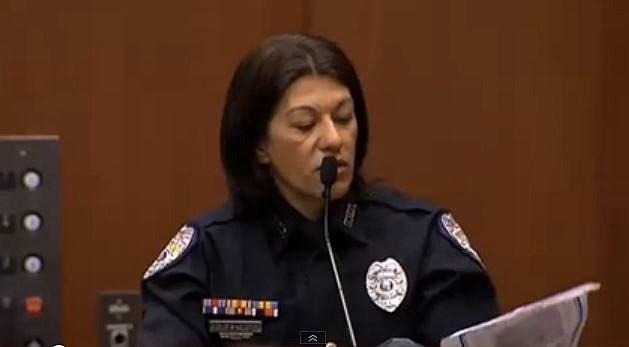 Officer Doris Singleton