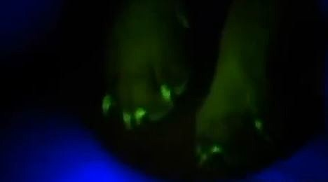 glowing paw