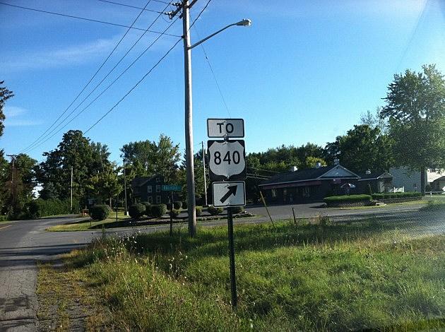 US 840 Sign in Clark Mills