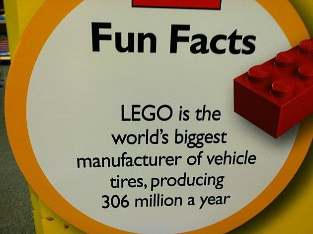 Legos fun facts,