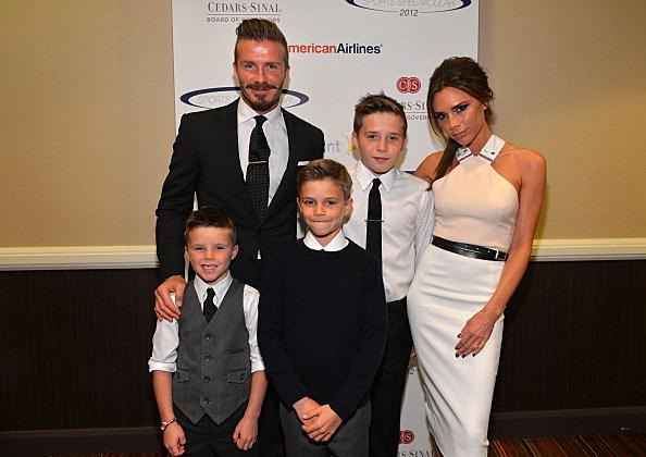 Victoria Beckham named most inspirational celebrity parent.