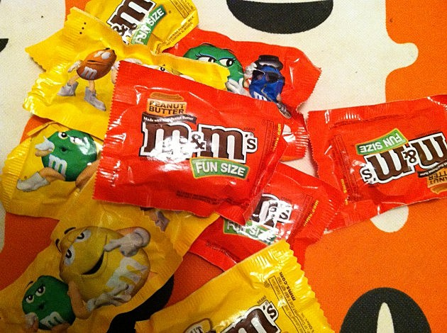 Most popular Halloween candy 2013,