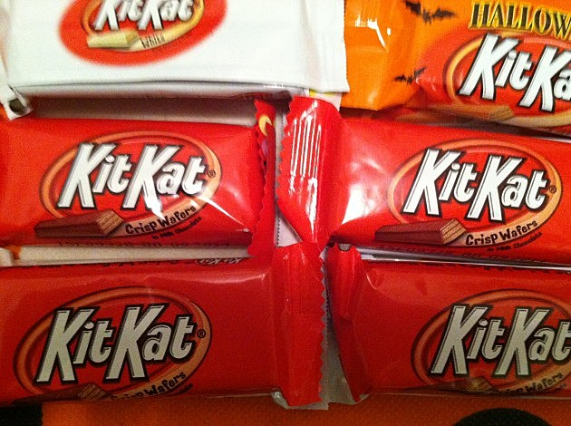 Most popular Halloween candy.