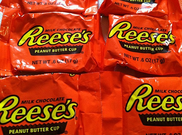 Most popular Halloween candy 2013.