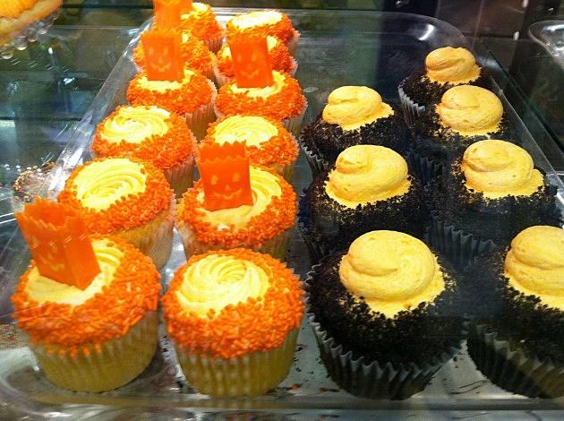 Halloween treats at Lizzy's Cupcakery.