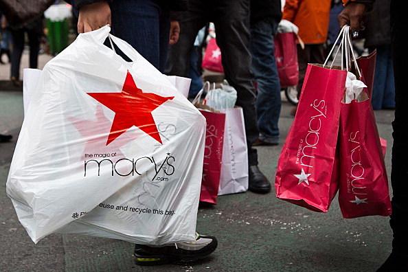 Shopping on Thanksgiving.