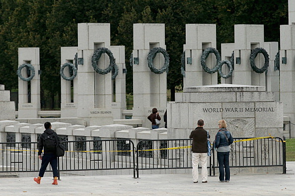 Government Shutdown Forces Closure at World War II Monument