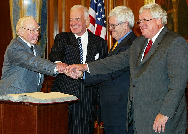 Former U.S. House Speaker Tom Foley