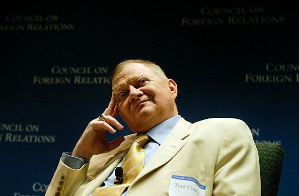 Author Tom Clancy dies at 66.