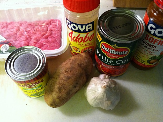 Green Chile Stew Ingredients