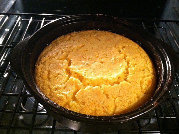 Corn souffle is the perfect Thanksgiving side dish.