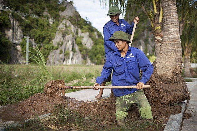 Clean Up Commences After Typhoon Haiyan Hits In Vietnam