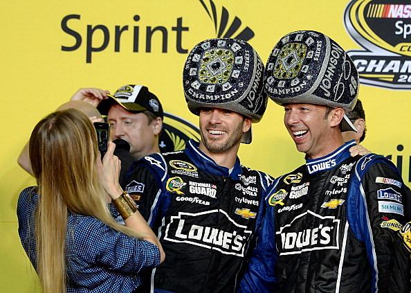 Johnson wins sixth Sprint Cup Championship.