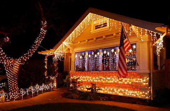 Is it too soon for Chrismas lights?
