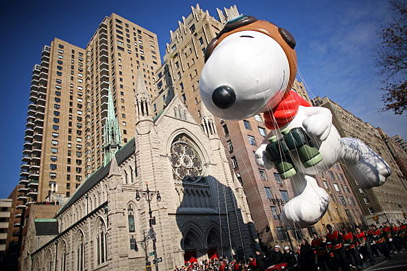 2013 Macy's Thanksgiving Day parade.